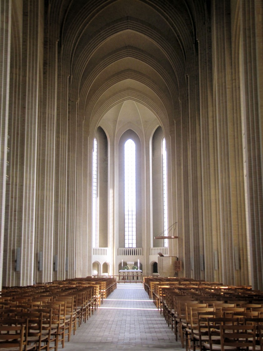 Grundtvig Memorial Church, by Jensen Klint. Photo by Seier+Seier