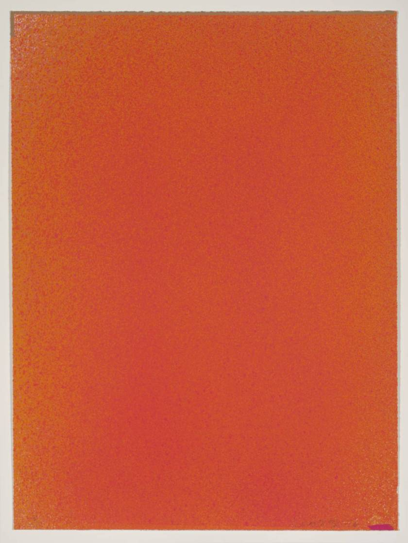 Magenta-Orange I 1970 by Jules Olitski 1922-2007