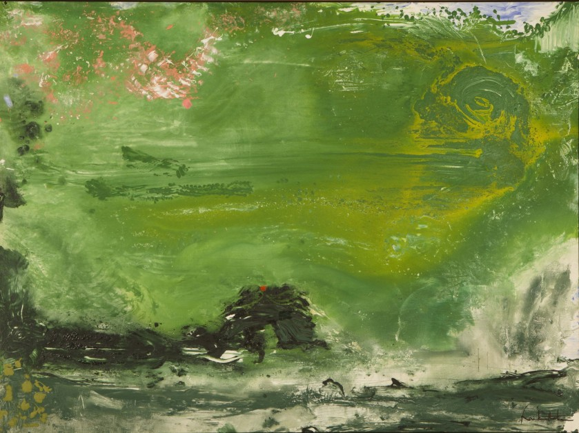 Helen Frankenthaler, Overture, The Helen Frankenthaler Foundation, Inc./Artists Rights Society (ARS), New York