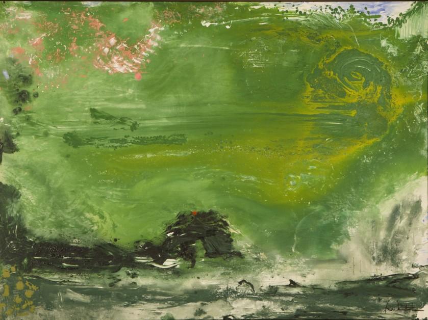 Helen Frankenthaler, Overture, The Helen Frankenthaler Foundation, Inc./Artists Rights Society (ARS), New York