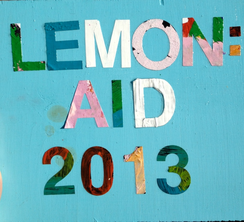 Lemon:Aid 2013 - the year Team Fritz learned all about Clean Water through Blood:Water Mission