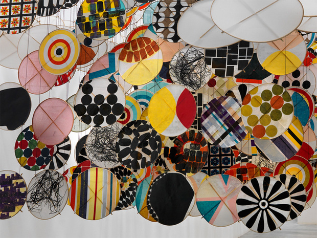 Jacob Hashimoto at the Moca, LA