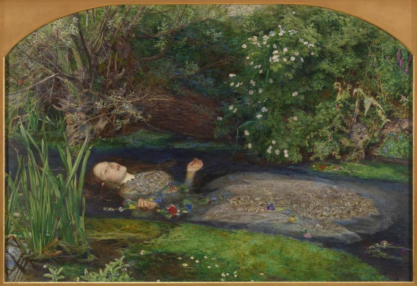 I was a Literature major with a love for beauty and drama. That never got out of hand. Painting: Ophelia 1851-2 Sir John Everett Millais,
