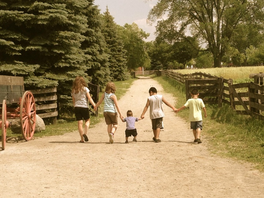 Berger Family at Greenfield Village Summer 2015
