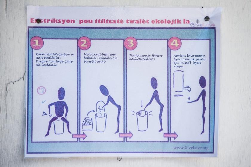 latrines