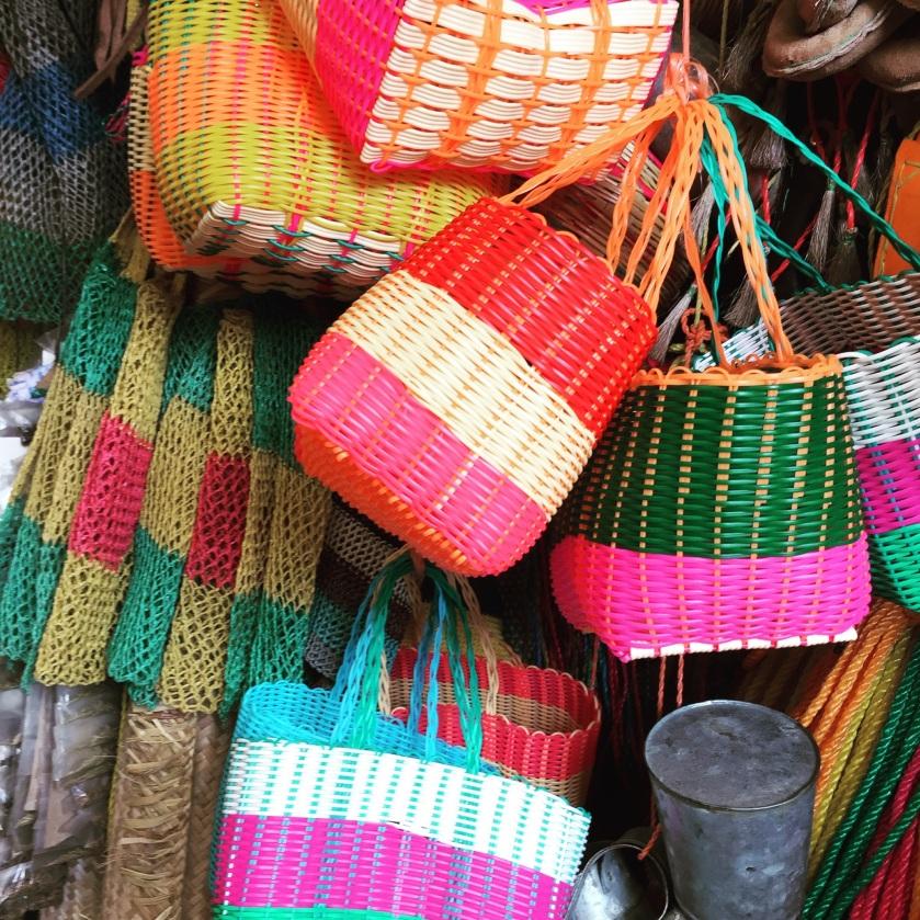 Baskets in Honduras. Photo by Pamela Klein