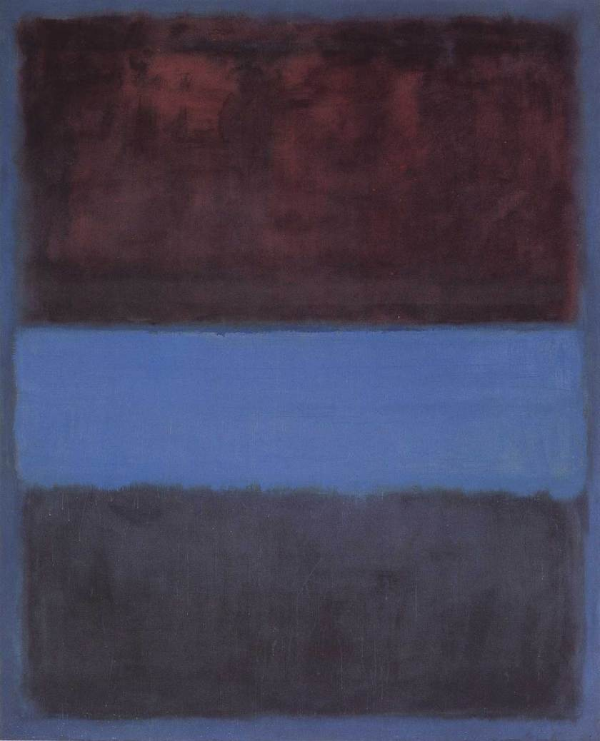 Mark Rothko, Number 61, 45 in × 36 in