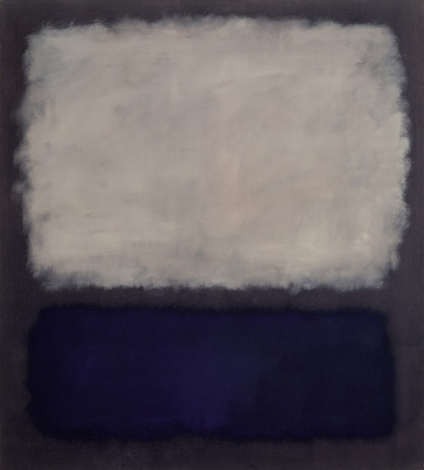 Mark Rothko, Blue and Grey , 1962 Oil on canvas 76 × 68 9/10 in