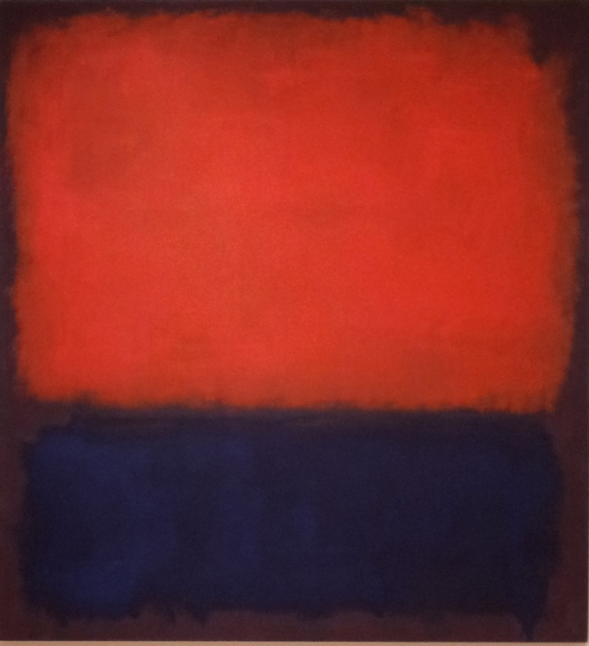 Mark Rothko, No. 14, 1960, Oil on canvas, 114 1/2 × 105 5/8 in.