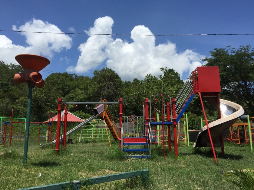 The Playground at AFE, where children can flourish instead of working at the dump.