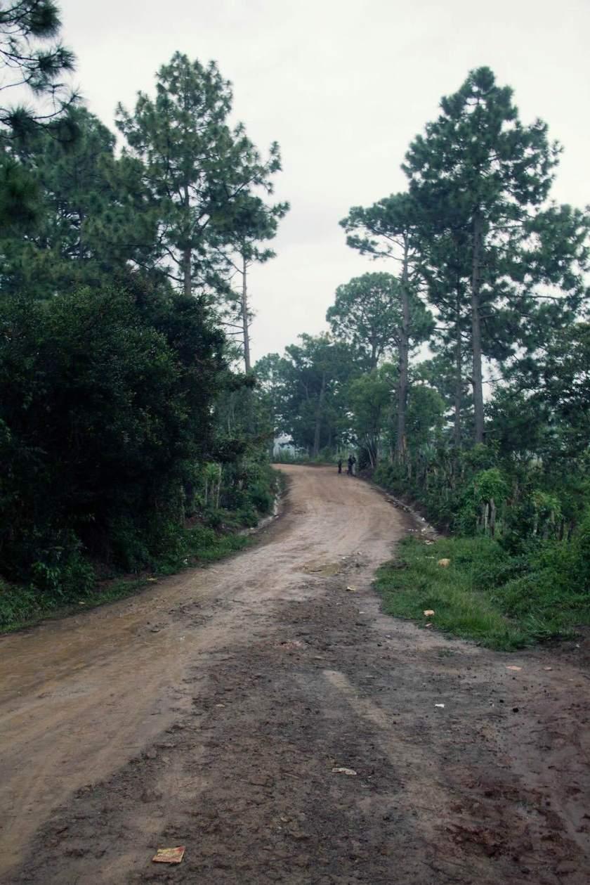 Mountain roads in Honduras. Photo by Pamela Klein.