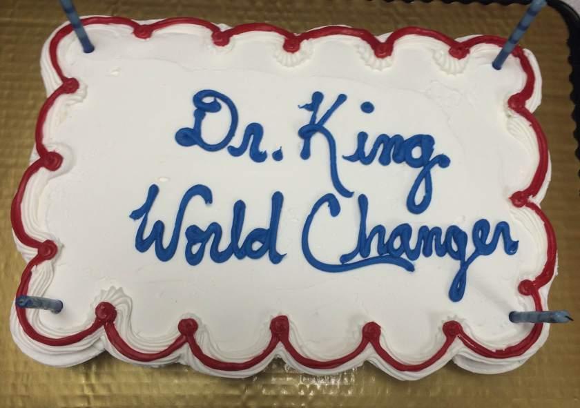 dr king cake