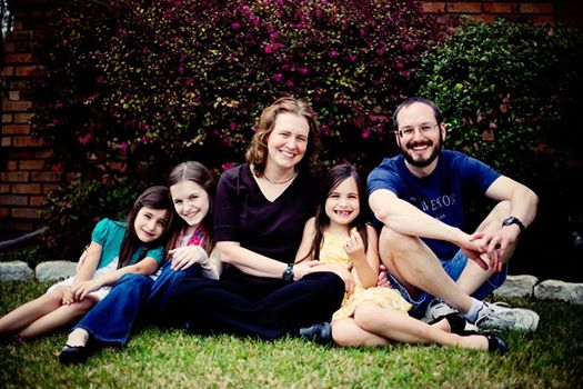 Dawn Waters Baker and her Family