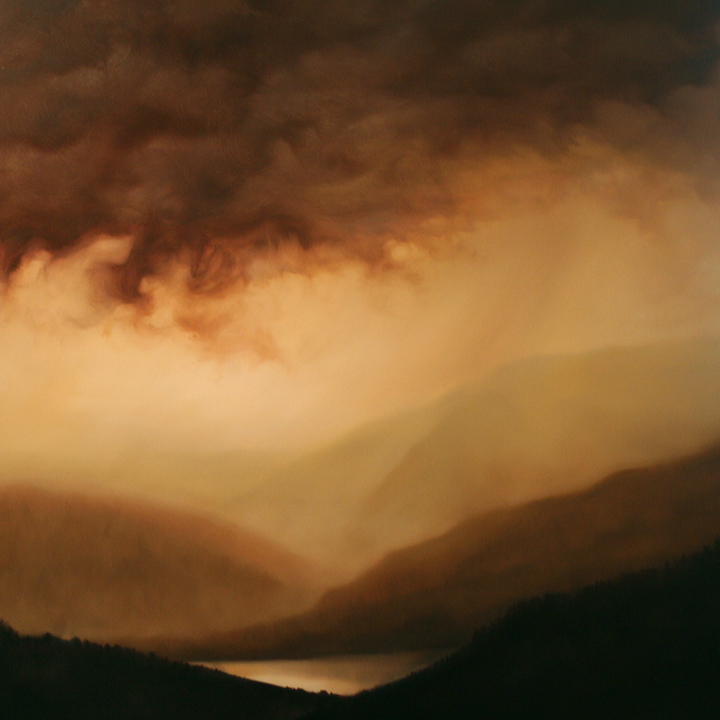 Dawn Waters Baker, Vallery of Light and Water, Oil