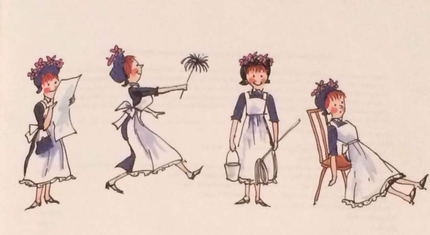 Photo by Aimee Paulson Fritz from the book Amelia Bedelia by Peggy Parish (pp 26-27). Illustrations by Fritz Siebel Revised Illustrations (c) 1992 by the Estate of Fritz Siebel.