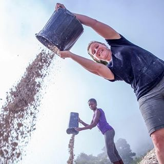 Getting dirty in Haiti with Haiti Partners.